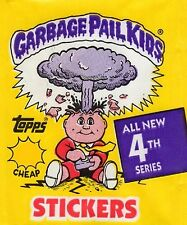 Garbage Pail Kids 1986 Series 4 OS4 Sticker Cards #125a - #166b Pick Your Cards
