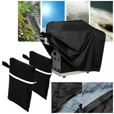 Portable Heavy Duty Waterproof BBQ Cover Gas Barbecue Grill Storage Protection
