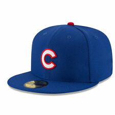 CHICAGO CUBS MLB ON FIELD AUTHENTIC NEW ERA 59FIFTY FITTED ROYAL HAT/CAP NWT