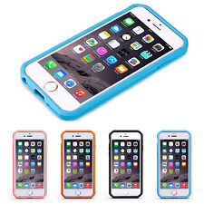 """Premium Bumper Hybrid Hard Case Cover for iPhone 6 6S 4.7"""" + Screen Protector"""