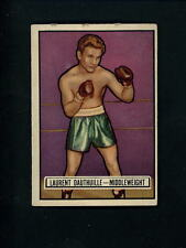 1951 Topps RINGSIDE # 38 Boxer Laurent Dauthuille EX+ condition Boxing