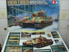 Tamiya 1/16 R/C Full Option  German WWII   KING TIGER  Tank Model  Kit # 56018 !