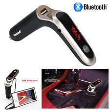 Bluetooth Car Truck Kit Handsfree FM Transmitter MP3 Player USB Charger SD AUX