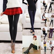 Sexy Womens Warm Winter Thick Skinny Slim Footless Leggings Stretch Pants