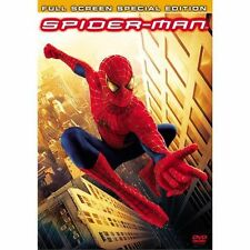 Spider-Man (DVD, 2002, 2-Disc Set, Special Edition Full Frame)