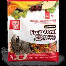 ZuPreem Bird/Parrot Food FruitBlend Fruit Blend 7 pounds