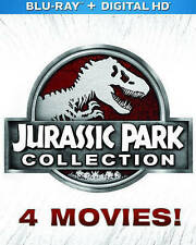JURASSIC PARK COLLECTION (Blu-ray/DVD, 2015, 3D Includes Digital Copy) NEW