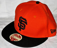 SAN FRANCISCO GIANTS NEW ERA 59FIFTY HERITAGE SERIES 2-TONE WOOL FITTED HAT NWT