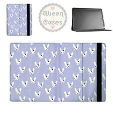 Bunny Bow Lilac Flip Folio Case - fits iPad Air Mini Samsung Galaxy