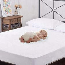Waterproof Terry Towel Mattress Protector All Size Fitted Bed Cover Pillow Cover