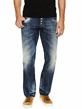 PRPS Goods and Co. Barracuda  Jeans E61P89V Straight Leg Regular Fit