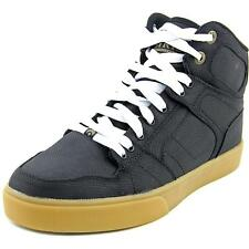 Osiris NYC 83 VLC Men  Round Toe Canvas Black Skate Shoe