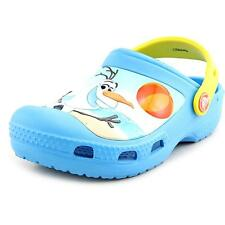 Crocs Creative Crocs Olaf Clog Youth  Round Toe Synthetic Blue Clogs