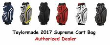 New 17 TaylorMade Supreme Cart Bag Choose Color FREE SHIPPING Authorized Dealer