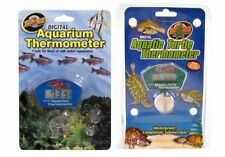 Zoo Med Digital Thermometer Aquarium / Turtle Thermometer