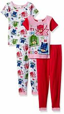 PJ Masks Girls 4 piece Pajamas Set (Toddler) 21PJ033TSL