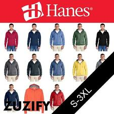 Hanes Nano Full-Zip Hooded Sweatshirt. N280