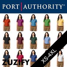 Port Authority Ladies Stain-Resistant Easy Care Polo Shirt. L510