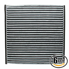 6x Cabin Air Filter for 2002-2006 Toyota Camry, 2004-2008 Toyota Solara