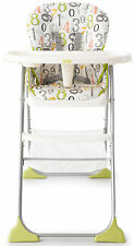 Joie MIMZY SNACKER HIGHCHAIR Lightweight Folding Toddler/Baby Feeding