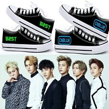 TVXQ 2NE1 SING FOR YOU KPOP Luminous CANVAS SHOES NEW GOODS Beast Kara CNBLUE