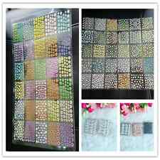 50Sheet Mix Color Floral Design 3D Nail Art Stickers Decals Nail Art Decoration=