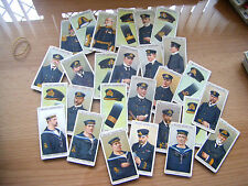 """PICK-A-CARD FROM WILLS """"NAVAL DRESS & BADGES""""  1909   **REVISED"""