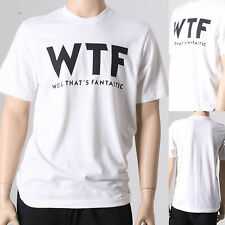 Mens WTF WELL THATS FANTASTIC Funny Hipster Tumblr Short Sleeve T-Shirt Large