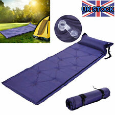 SINGLE SELF INFLATING ROLL CAMPING MAT/PAD INFLATABLE BED SLEEPING MATTRESS +BAG