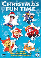Christmas Fun Time - Postman Pat - Finley the Fire Engine - UK Release - DVD