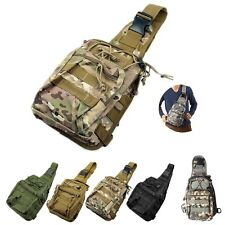 Mens Outdoor Sport Military Tactical Backpack Hiking Camping Travel Shoulder Bag