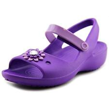 Crocs Keeley Mini Wedge   Open-Toe Synthetic  Mary Janes