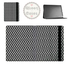 Mouse Ears Polka Dots Black Flip Folio Case - fits iPad Air Mini Samsung Galaxy