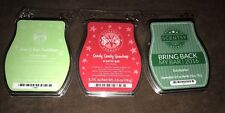Mixed lot~3 SCENTSY wax bars~Lime & Kiwi Cantaloup, Eucalyptus & Goody Gumdrop