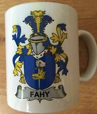 Family Name Coat of Arms Crest on Coffee CUP MUG - MC CORMICK to MC ELVANY