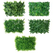 Synthetic Grass Artificial Turf Plastic Green Plant Lawn Flooring Grassland DIY