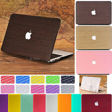 """2in1 Frosted Matte Case+Keyboard Skin for Macbook Air 11"""" Pro 13"""" 15""""+Retina"""