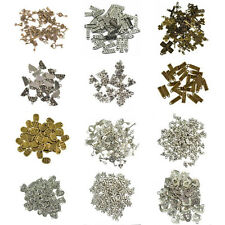 50pcs Bulk Mixed Tibetan Silver Alloy Charm Pendants Beads DIY Jewelry Findings