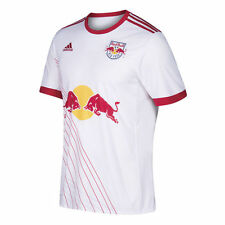 adidas New York Red Bulls NYRB MLS 2017 Soccer Home Jersey White  Kids - Youth