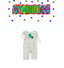 "Gymboree baby girls Balloon Dots ""We Have Arrived"" One Piece New 0 3 6 12 18 24"