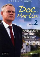 Doc Martin - Series 2 (DVD, 2012, 3-Disc Set) Martin Clunes, Stephanie Cole