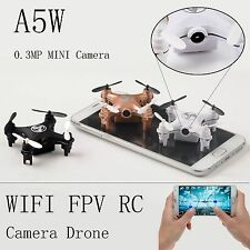 Nano RC Quadcopter 2.4GHz 4CH 6-Axis Gyro 3D UFO Drone FPV with WIFI Camera RTF