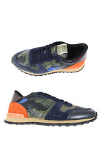 Valentino Shoes Sneaker % Leather MADE IN ITALY Man Oranges LY0S0723TCC-U48