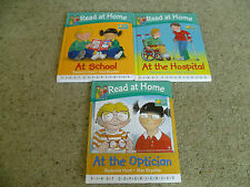 Oxford Reading Tree Read At Home First Experiences x 3 At school hospital optici