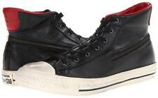 Converse John Varvatos Chuck Taylor Leather All Star Back Zip Hi BLACK 139986C