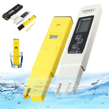 Digital LCD PH Meter TDS EC Water Purity PPM Hydroponic Pool Filter Tester Pen