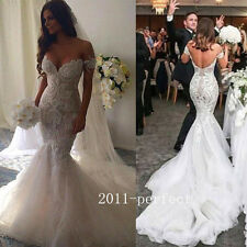 2017 Luxury Beaded Wedding Dresses Sexy Sweetheart Mermaid Bridal Gowns Custom
