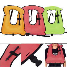 Universal Adult Inflatable Life Jacket Sailing Boating Security Swimming Vest