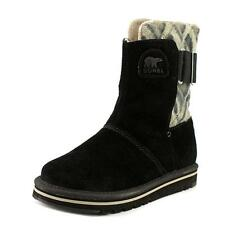 Sorel Newbie   Round Toe Faux Leather  Winter Boot
