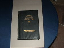 1927  Armco Bulliten bound edition by Armco Steel in Middletown Ohio